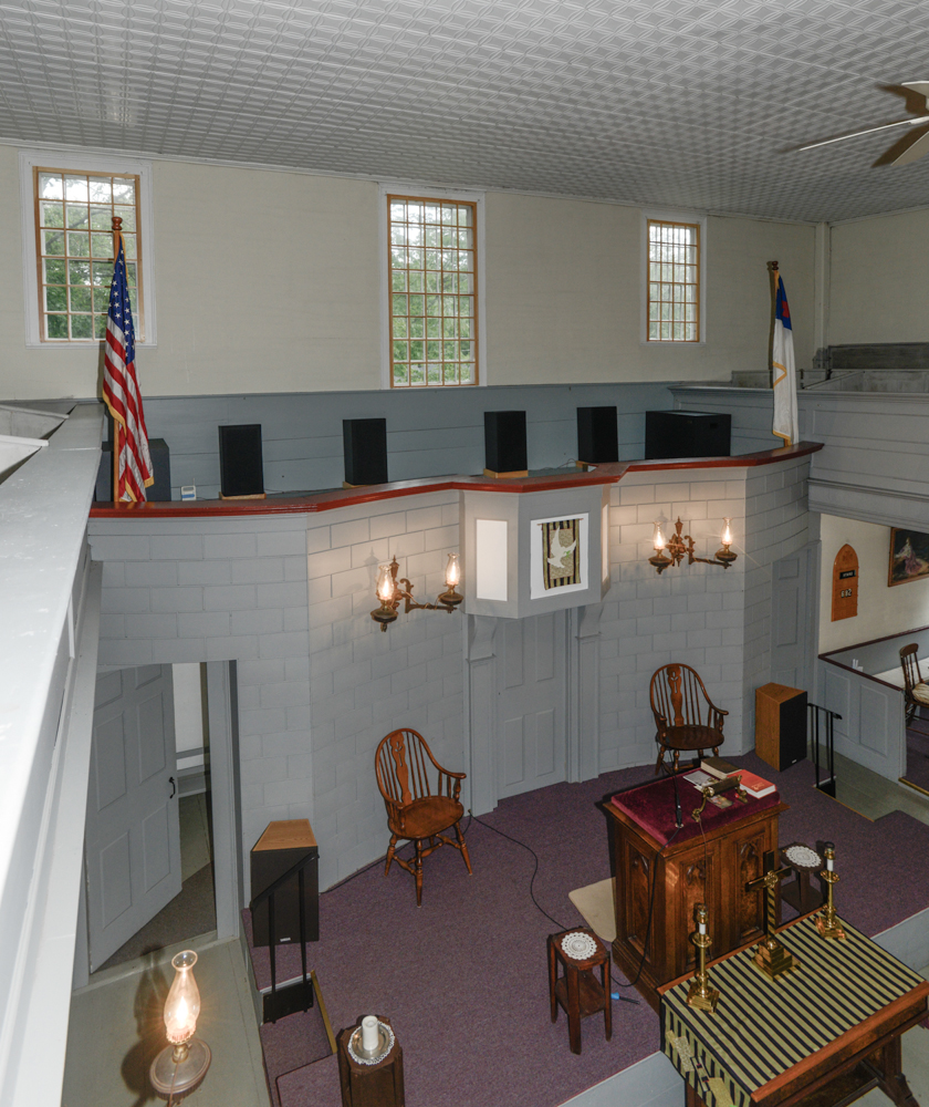 Lincolnville Center Meeting House C1820 Vaf New England Tour Of